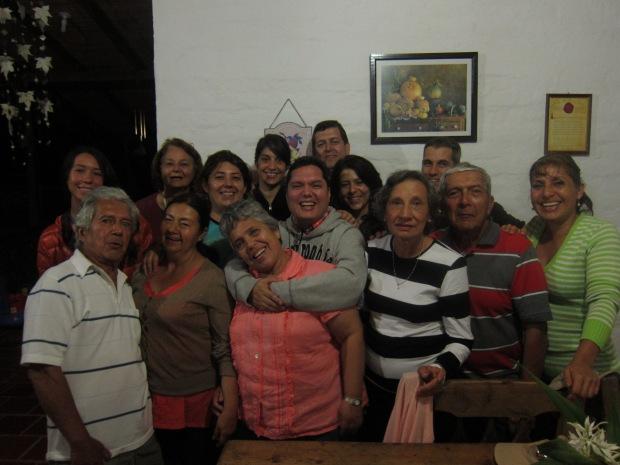 The family photo.